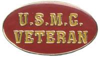Ramsons Imports US Marine Corp Veteran Lapel Pin