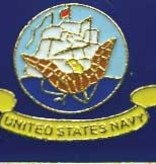 Ramsons Imports Navy Lapel Pin