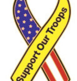 Ramsons Imports Support Our Troops Lapel Pin