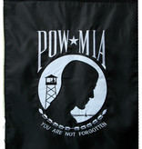 Ramsons Imports POW MIA Embroidered 2 Sided Banner 28 x 40