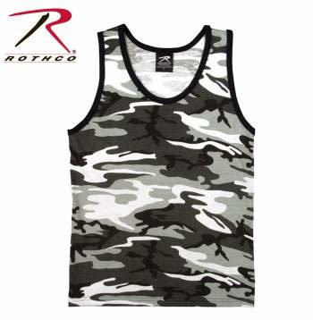 Rothco Camo Tank Tops