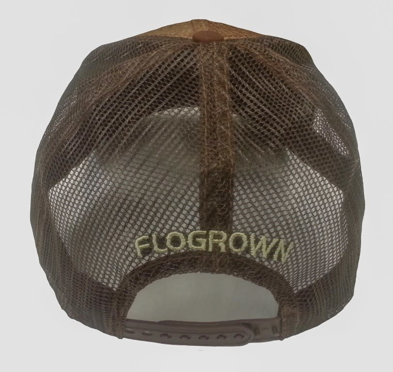 Flo Grown Straw Seal Hat