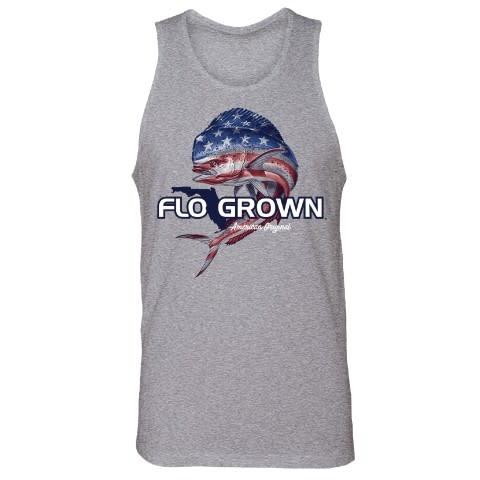 Flo Grown Mahi USA Tank