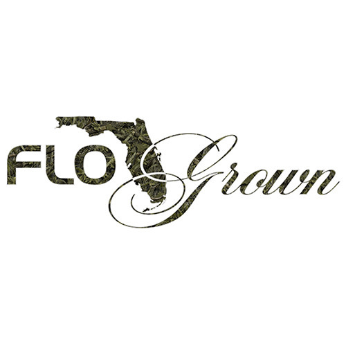 Flo Grown Camo Script Decal
