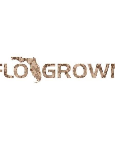 Digital Camo FloGrown Decal