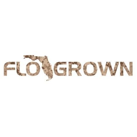 Flo Grown Digital Camo FloGrown Decal
