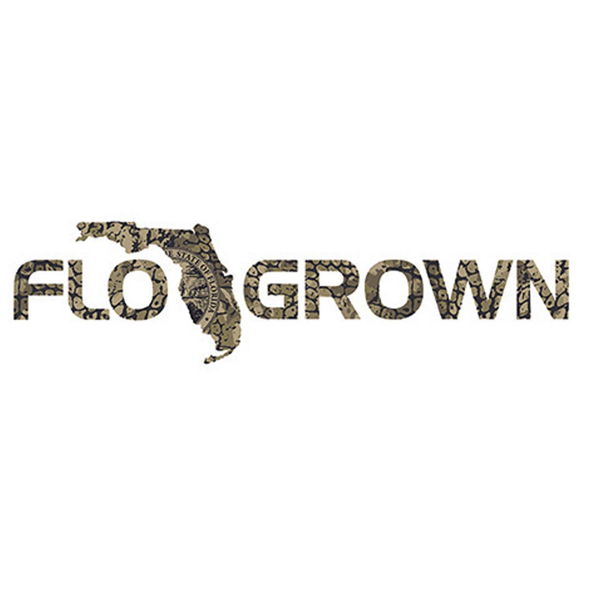 FloGrown Gator Skin Decal