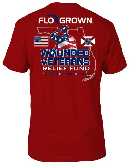 FloGrown RED Friday Tee