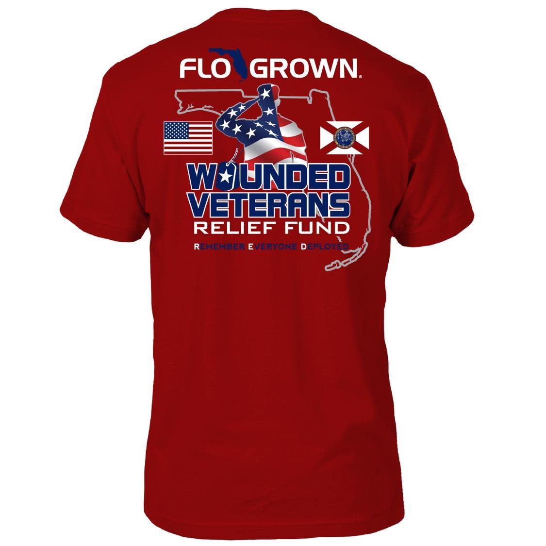 Flo Grown FloGrown RED Friday Tee