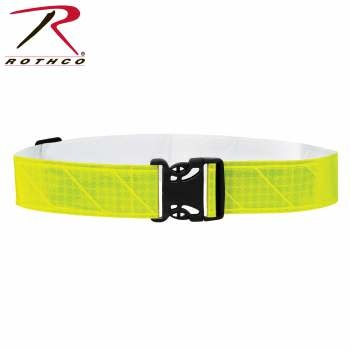Rothco Lightweight Reflective Elastic PT Belt