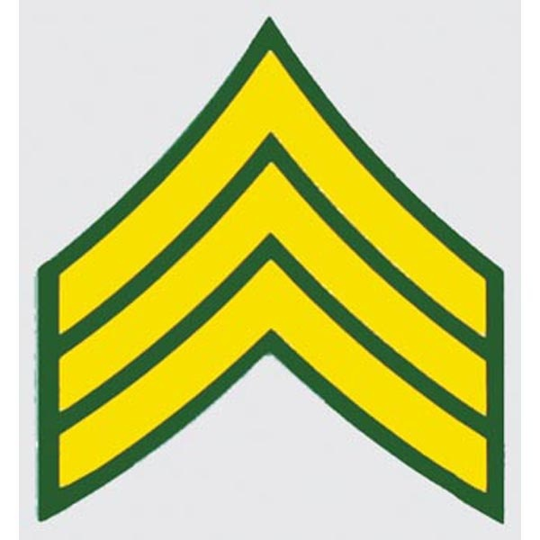 "Mitchell Proffitt U.S. Army E-5 Sergeant 2.25"" x 2.5"" Decal"