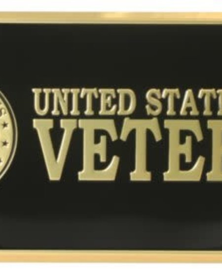 U.S. Army Veteran License Plate