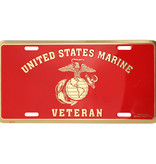 Mitchell Proffitt U.S. Marines Veteran License Plate