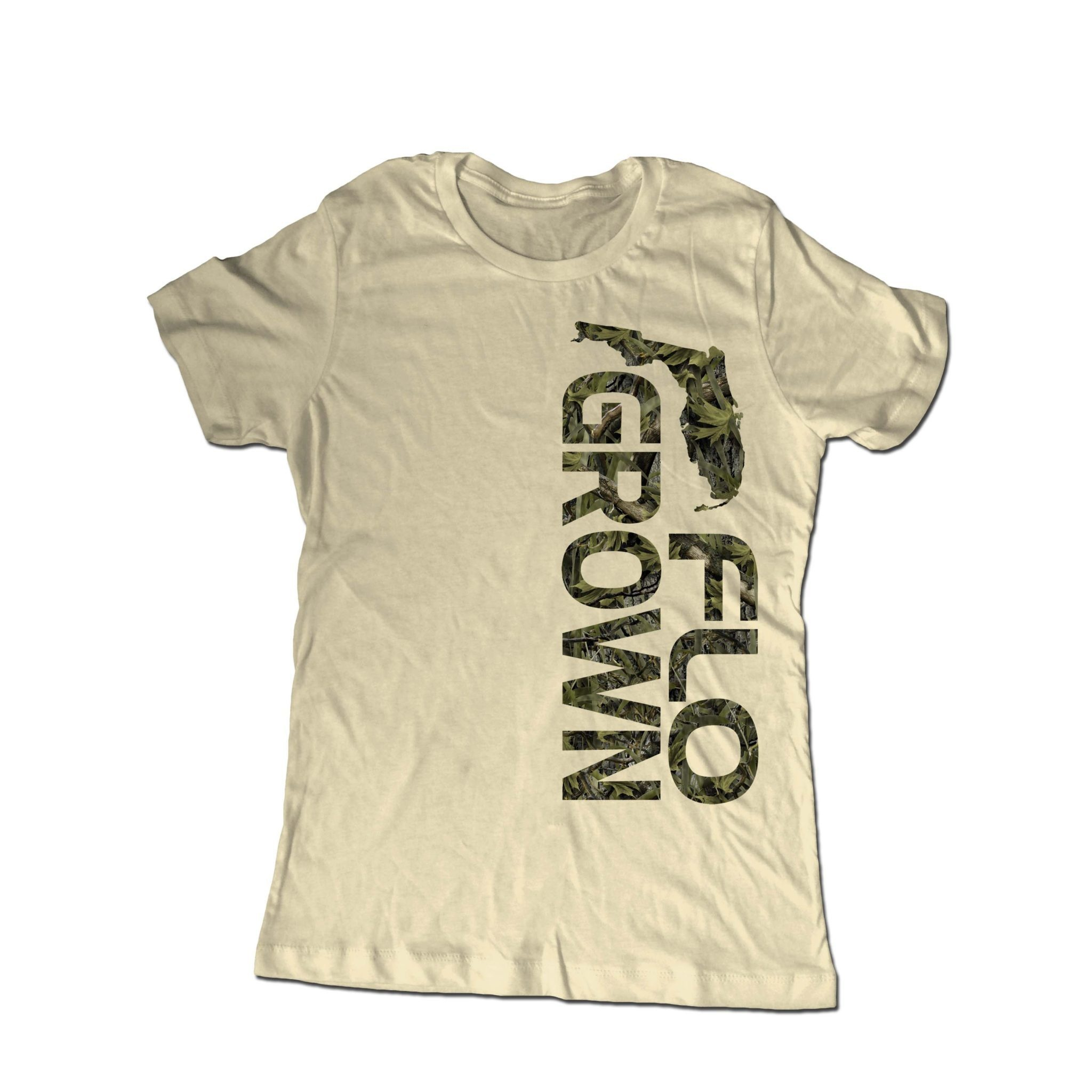 Flo Grown Camo Bold Tee