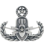 No Shine Insignia Air Force Badge - Master Explosive Ordnance Disposal Insignia