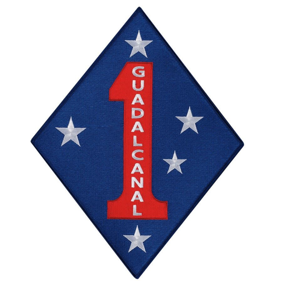 Military 1st Marine Division Patch