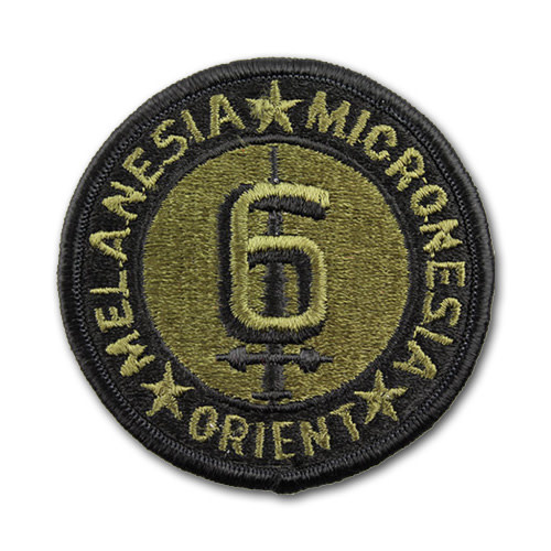 6th Marine Division Patch