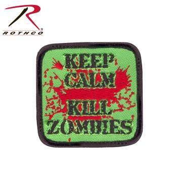 Keep Calm Kill Zombies Morale Patch