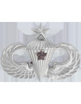 No Shine Insignia Senior Parachutist Insignia