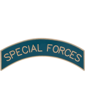 No Shine Insignia Army Insignia - Special Forces Tab