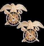 No Shine Insignia Army Insignia - Quartermaster Officer