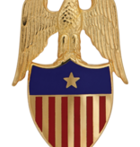 No Shine Insignia Army Insignia - Aide to the Brigadier General