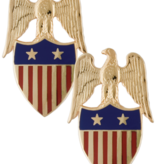No Shine Insignia Army Insignia - Aide to the Major General