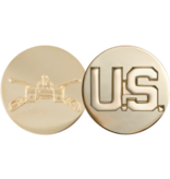 No Shine Insignia Army Insignia - Armor and US Enlisted