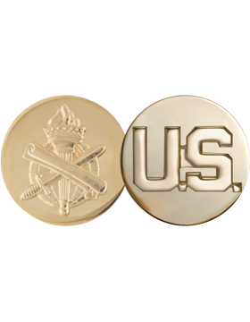 No Shine Insignia Army Insignia - Civil Affairs and US Enlisted
