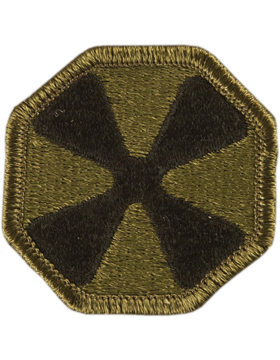 Military 8th Army Patch