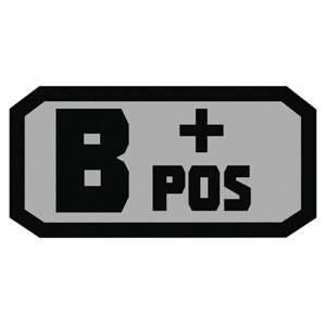 Fox Outdoor Products B Positive Patch