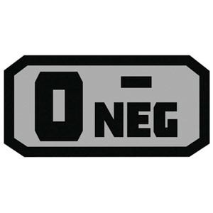 Fox Outdoor Products O Negative Patch