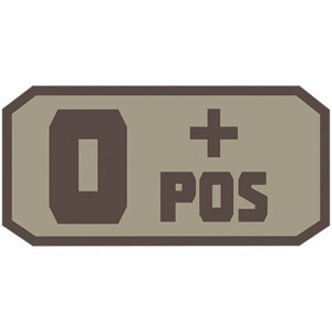 Fox Outdoor Products O Positive Patch