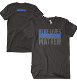 Fox Outdoor Products Blue Lives Matter 2 Sided T-Shirt