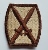 10th Infantry Division Patch
