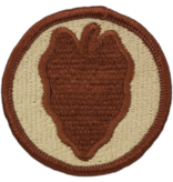 24th Infantry Division Patch