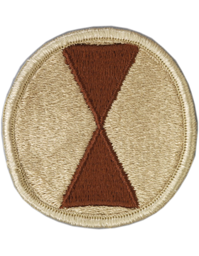 Military 7th Infantry Division Patch