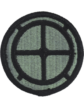 No Shine Insignia 35th Infantry Division Patch