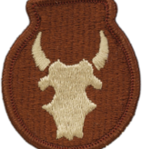 No Shine Insignia 34th Infantry Division Patch