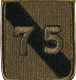 No Shine Insignia 75th Infantry Division Patch