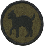 No Shine Insignia 81st Infantry Division Patch