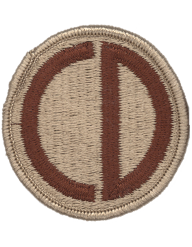 No Shine Insignia 85th Infantry Division Patch
