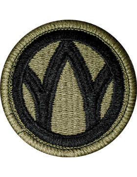 No Shine Insignia 89th Infantry Division Patch