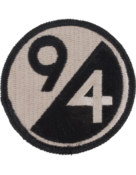No Shine Insignia 94th Infantry Division Patch (Old)
