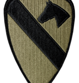 No Shine Insignia 1st Cavalry Patch