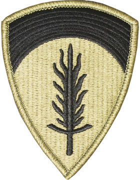 United States Europe Army Ground Unit Patch
