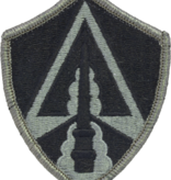 No Shine Insignia Army Space Command Patch - Army Patch
