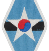 No Shine Insignia Combined Field Army - US - ROK Patch