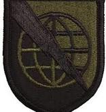 No Shine Insignia Strategic Communications Command - Army Patch