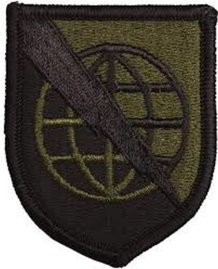 Strategic Communications Command - Army Patch